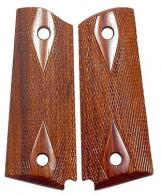Chip McCormick Smooth Rosewood Grips 1911 Officers - 82011
