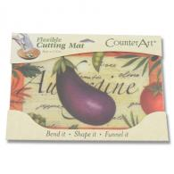 Counter Art Flexible Cutting Mat Jr. - Eggplant Salad - CAR75466