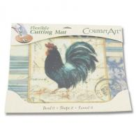 Counter Art Flexible Cutting Mat - French Rooster - CAR74177