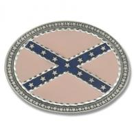 Buckle Shack™ Oval Rebel Confederate Flag - BSBB1900P