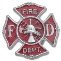 Buckle Shack™ Fire Department Badge - BS4811PC