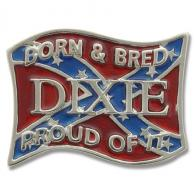 Buckle Shack™ Born and Bred Dixie Confederate Flag - BSPI4516C