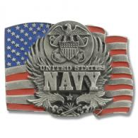 Buckle Shack™ Navy American Flag - BSO92