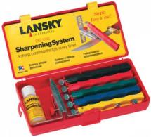 Lansky Deluxe Kit For Sharpening Knives - LKCLX