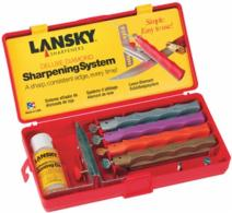 Lansky Sharpening Kit w/Four Diamond Hones - LKDMD