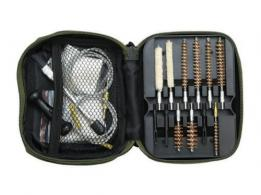 American Buffalo AB034B Portable Cleaning Kit Most Handguns All Cal Pistol Blac - AB034B