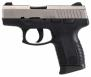 Taurus PT111 Millennium, 9mm, 3.25in barrel, Titanium, Night Sig - 111TINS