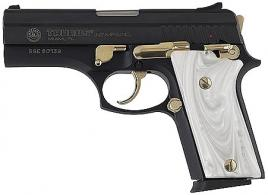 Nickel Taurus Pt92 With Pearl Grips