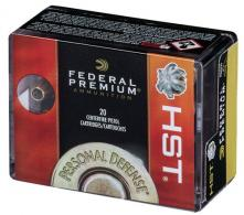 Federal P38HST1S Personal Defense HST Micro .38 Spc +P 130GR HST JHP 20 Bx/ - 10