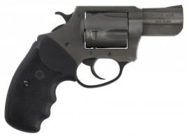 "Charter Arms 64420 Bulldog 44 Special Double Action 2.5"" 5 Black Rubber Black Nitride - 64420"