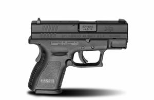 Springfield XD9801HCSP06 XD Sub-Compact 16+1/13+1 9mm 3""
