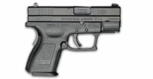 Springfield XD9802SP06 XD Sub-Compact 9+1 40S&W 3""