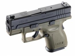 Springfield XD9812SP06 XD Sub-Compact 9+1 40S&W 3""