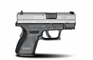 Springfield XD9822SP06 XD Sub-Compact 9+1 40S&W 3""
