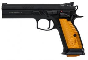 CZ-USA CZ75 Thumb Safety ORANGE .40 S&W 17RD - 91260