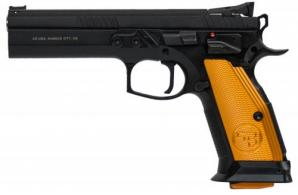 CZ-USA CZ75 Thumb Safety ORANGE 9mm 20RD - 91261