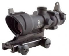 Trijicon ACOG 4x32 Scope with Amber Center Illumination for M4A1  includes Flat Top Adapter, Backup Iron Sights and Dust Cove - TA01NSN