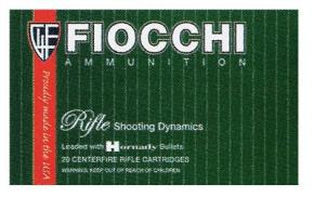 Fiocchi 223 Remington 55 Grain Pointed Soft Point