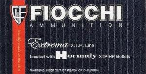 Fiocchi 9MM 147 Grain 25RD Extreme Terminal Performance Hollow Point