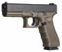 Glock PG1757203MOS G17 Double 9mm Luger 4.48 17+1 OD Green Grip Black - PG1757203MOS