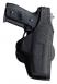 Bianchi AccuMold Holster w/Adjustable Paddle Design & Closed