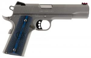 "Colt Mfg O1072CCS 1911 Competition 70 Series 9mm Luger 5"" 9+1 Stainless Steel Blue G10 w/Logo Grip - O1072CCS"