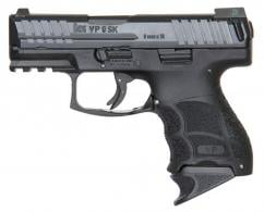 "Heckler & Koch VP9K 9mm 3.4"" Black, Night Sights, (3) 10rd Magazines - 700009KLEA5"