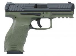Heckler & Koch (H&K) M700009GRA5 VP9 DOUBLE 9MM LUGER 4.09 15+1 2 MAGS OD GREEN INTERCHANGEABLE - M700009GRA5