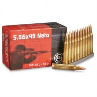 GECO 278140050 223 Remington/5.56 NATO 55 GR Full Metal Jacket 50 Bx/ 20 Cs - 278140050