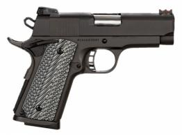 Rock Island Armory 51479 Rock Ultra CS Single .45 ACP 3.5 7+1 Gray G10 Grip Black Park - 51479
