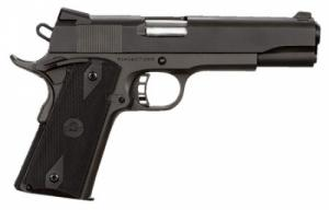 Rock Island Armory 51632 Rock Standard FS Single 9mm 5 10+1 Black G10 Grip Blac - 51632