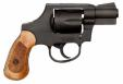 Rock Island Armory 51280 Revolver M206 Spurless Single/Double Action .38 Spc 2 6 Wood Bla - 51280