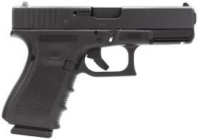 Glock G19C Gen 4 Double 9mm Luger Black Interchangeable Backstrap G - UG1959203