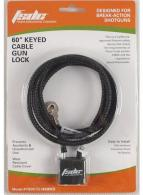 Firearm Safety Devices CL1850RKD Cable Gun Lock Black - CL1850RKD