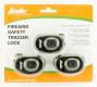Firearm Safety Devices TL3510RKA Keyed Trigger Lock Black - TL3510RKA