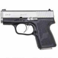 "Kahr Arms CM9093HM CM9 Double 9mm Luger 3"" 6+1 Black Polymer Grip Stainless wit"