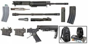 Windham Weaponry RMCSBOB Multi-Caliber Rifle Kit AR Style 223Rem/22LR/9mm Steel - RMCSBOB