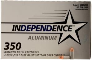Lake City Ammo Independence 9MM 115 FMJ - IAL9115350