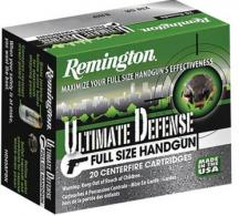 Remington Ammunition HD9MMC Ultimate Defense Full-Sized Handgun 9mm 147 G - HD9MMC