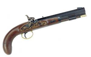 Lyman 50 Cal Plains Pistol w/Blued Barrel & Walnut Stock - 6010608