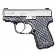 Kahr Arms CW3833BCF CW380 Double 380 ACP 2.58 6+1 Black Polymer Grip Stainless