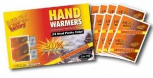 Heat Factory Mini Heated Hand Warmers - Pack of 40 - 1953