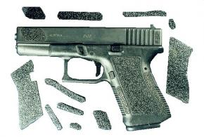 Decal Grip Enhancer For Glock 26 w/Finger Grooves