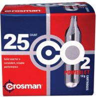 Crosman 25 Pack CO2 Cartridges - 2311