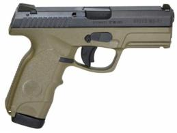 Steyr 39.725.2K M9-A1 Double 9mm 4 17+1 Green Polymer Grip