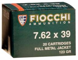 Fiocchi 7.62MM x 39MM 123 Grain Full Metal Jacket