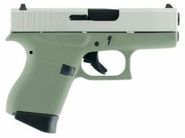 Glock G43 Double 9mm 3.39 6+1 Forest Green Poylmer Grip Stainless - PI4350201FGSA