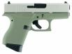Glock G43 Double 9mm 3.39 6+1 Forest Green Poylmer Grip Stainless