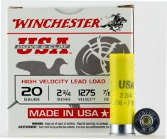 "Winchester Ammo USAL207 Dove and Clay 20 GA 2.75"" 7/8 oz 7.5 Round 25 Bx/ 10"