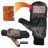 Heat Factory Large Mossy Oak Break-Up Mitten w/Pocket For He - 991